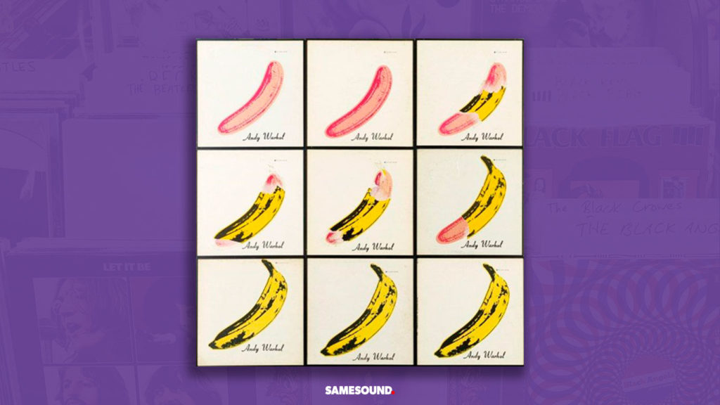 """The Velvet Underground """"The Velvet Underground & Nico"""", как сделать обложку альбома"""