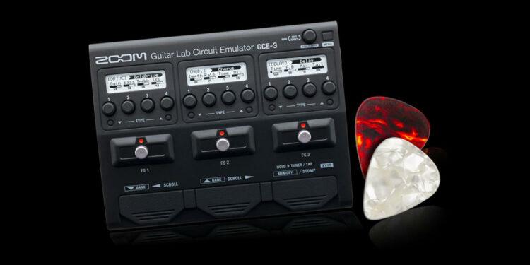 Гитарный процессор ZOOM GCE-3
