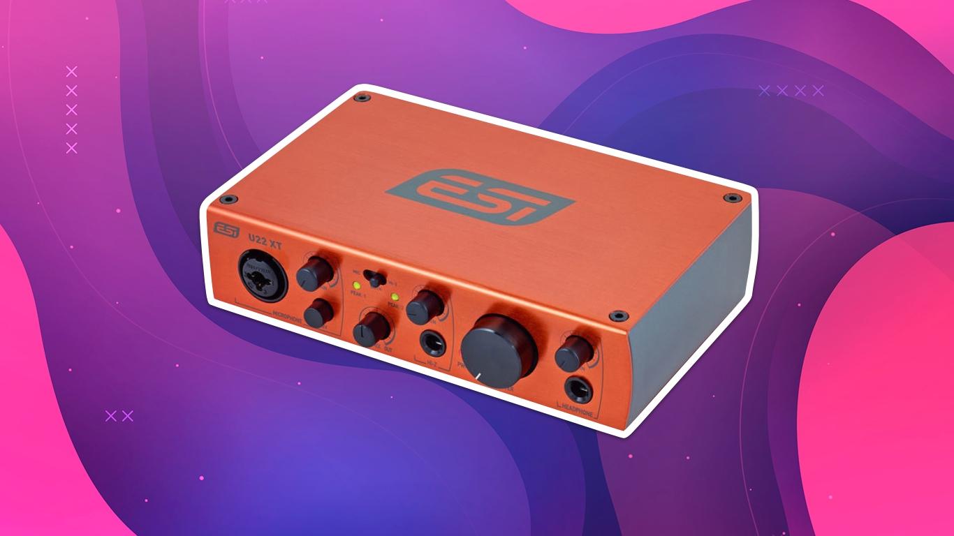 ESI U22 XT, лучшие звуковые карты для домашней студии звукозаписи