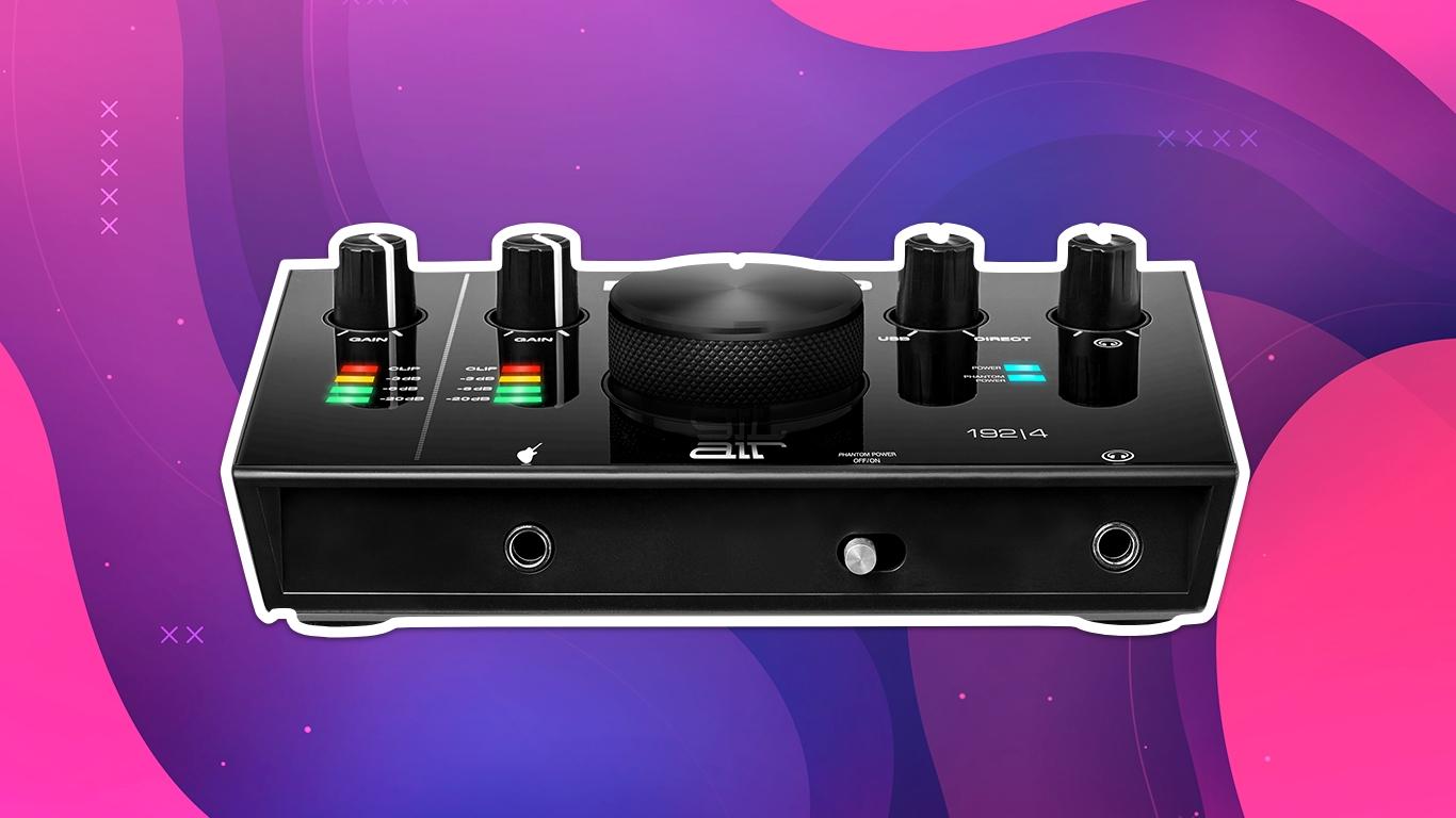 M-Audio AIR 192/4, лучшие звуковые карты для домашней студии звукозаписи