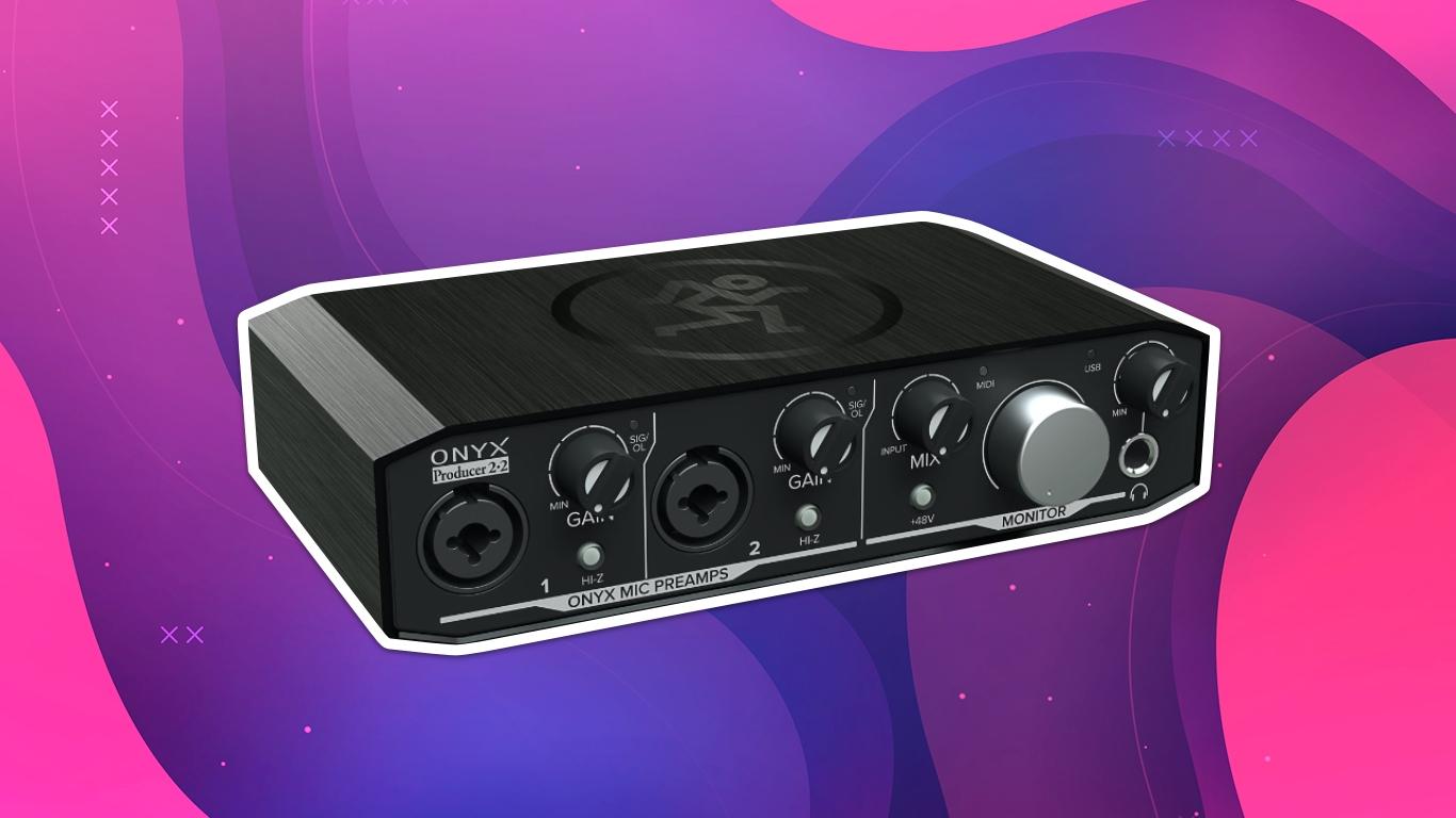 Mackie Onyx Producer 2x2, лучшие аудиоинтерфейсы для домашней студии звукозаписи