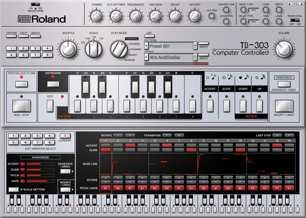 VST-плагин Roland TB-303