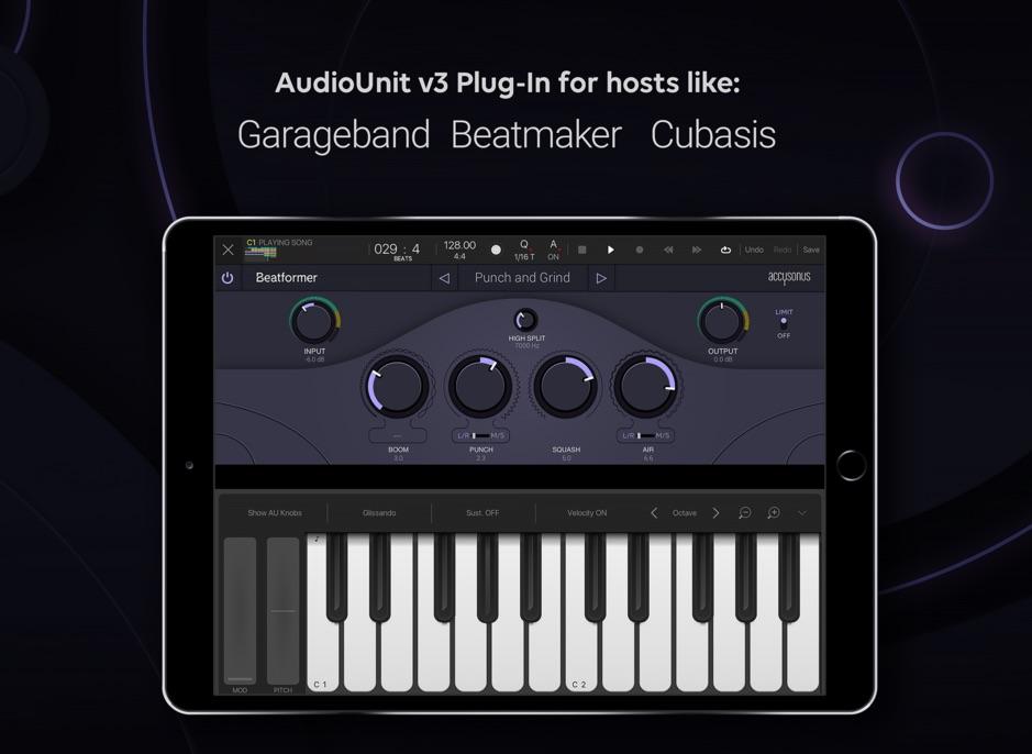 Accusonus Beatformer iOS