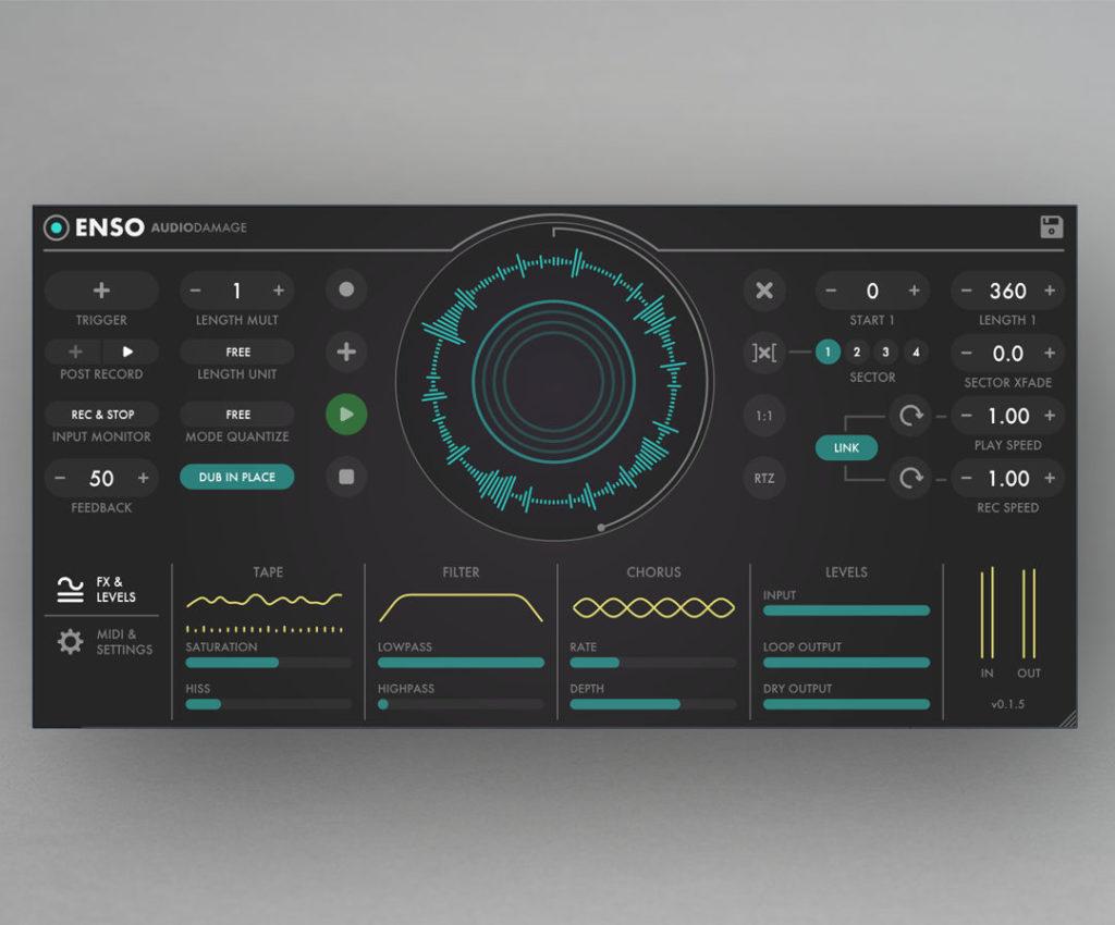Лупер Audio Damage Enso