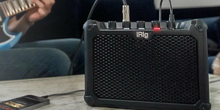 Компактный усилитель IK Multimedia iRig Micro Amp