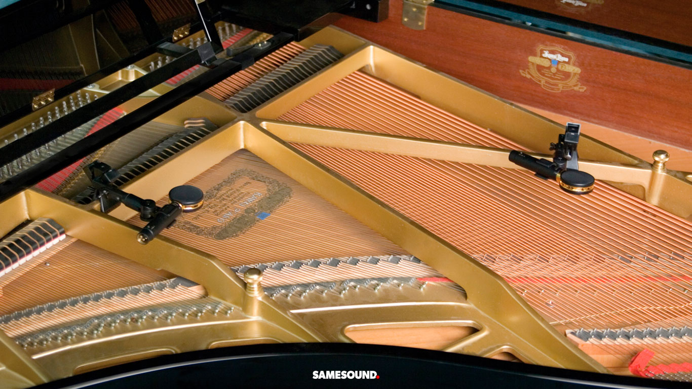 запись рояля микрофоном
