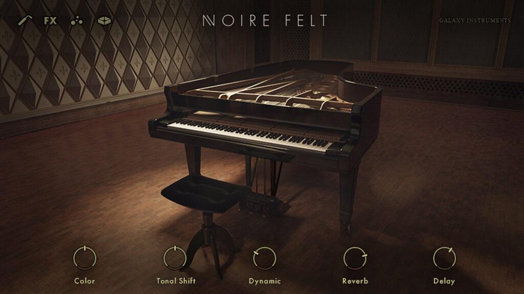 VST-пианино Native Instruments Noire