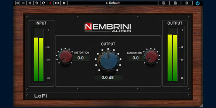 VST-сатуратор Nembrini Audio LoFi Vintage Clipper