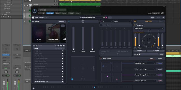 Синтезатор Roli Studio Player