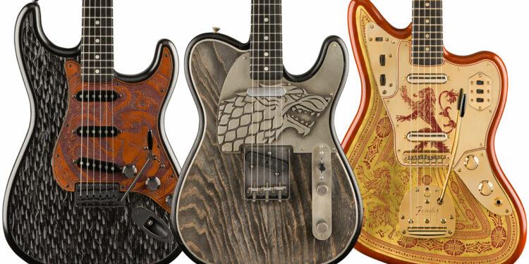 Гитары Fender в стилистике Игры престолов