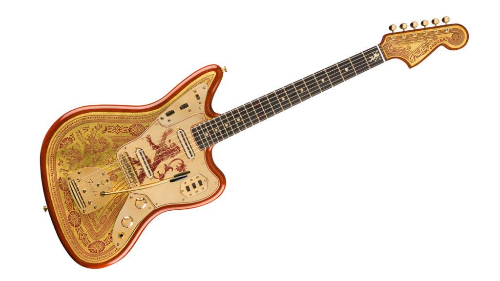 Fender Game ofThrones House Lannister Jaguar
