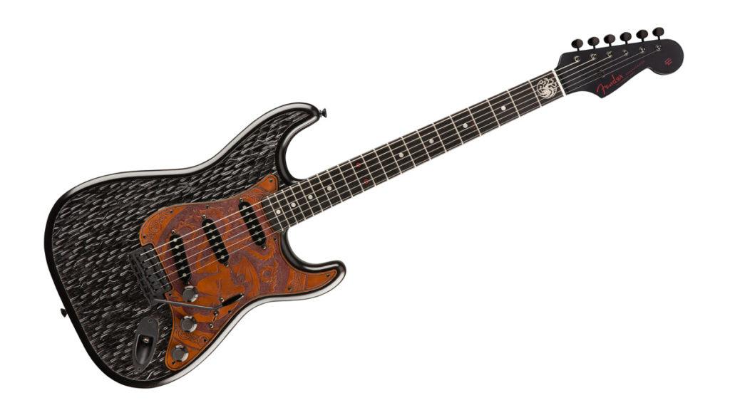 Fender Game ofThrones House Targaryen Stratocaster