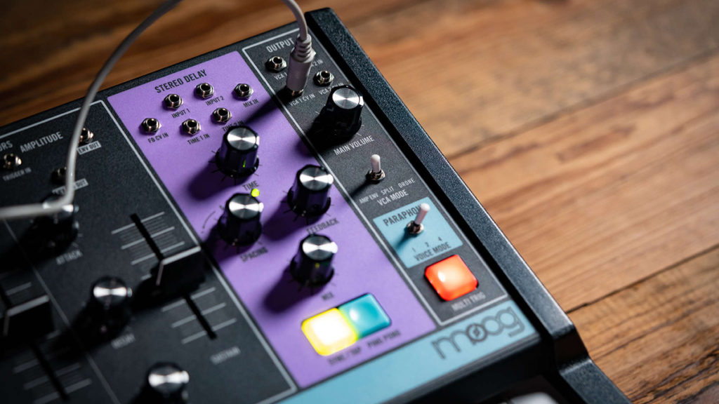 Moog Matriarch парафонический синтезатор