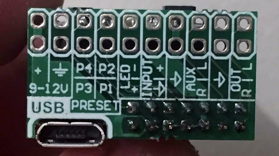AMT Pangaea CP16A-6F22 Модуль загрузки импульсов в педали