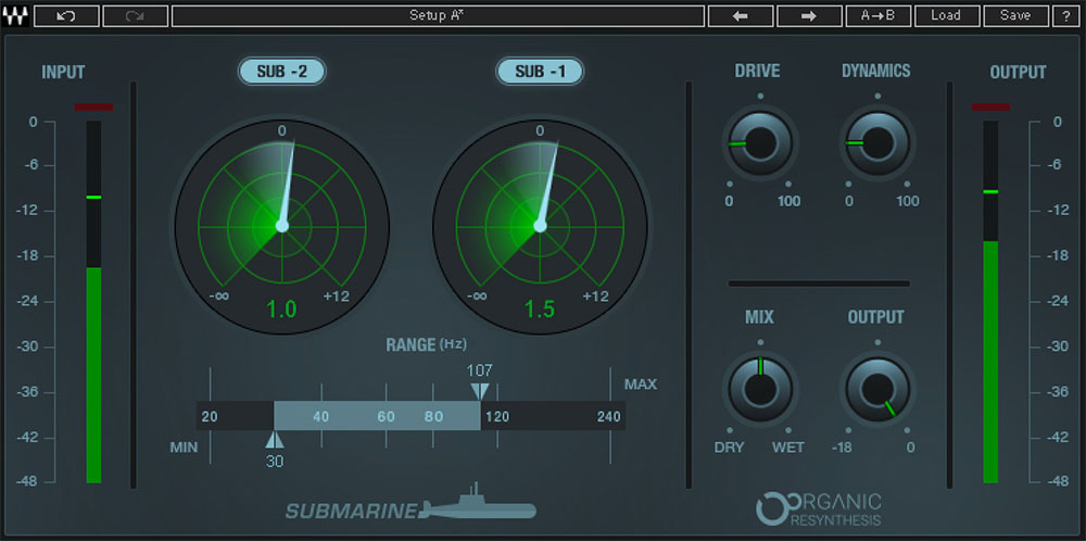 субгармонический процессор Waves Audio Submarine