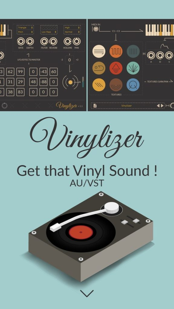 эмулятор винила thenatan vinylizer vst