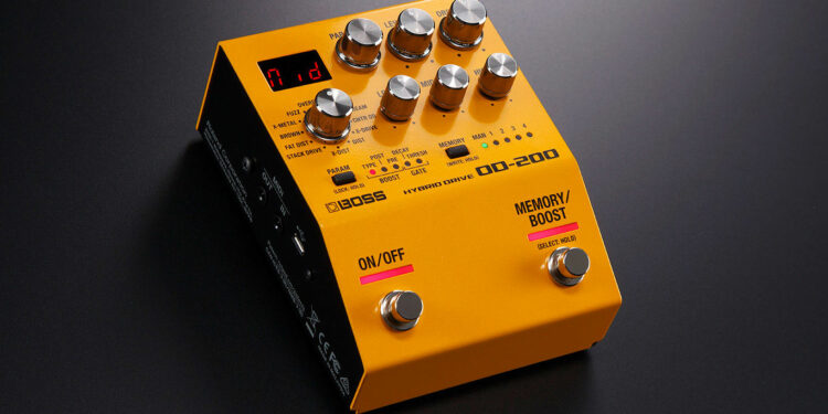 boss 200 series new pedals