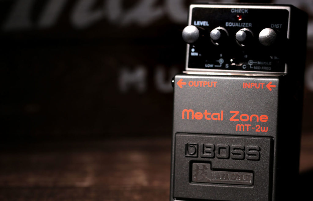 педаль boss metal zone в return усилителя