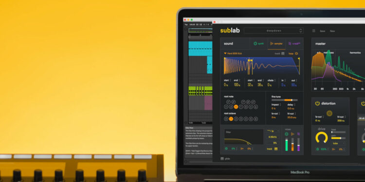future audio workshop sublab, басовый синтезатор sublab