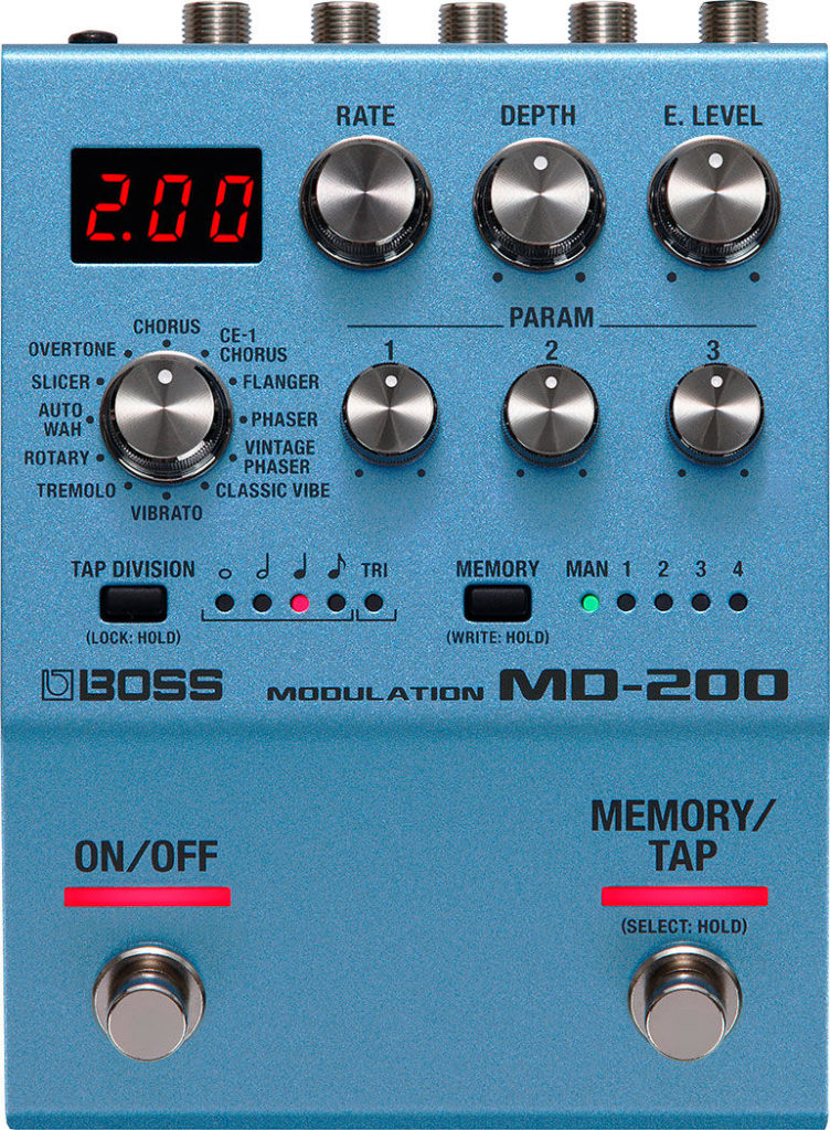 BOSS MD-200 Modulation