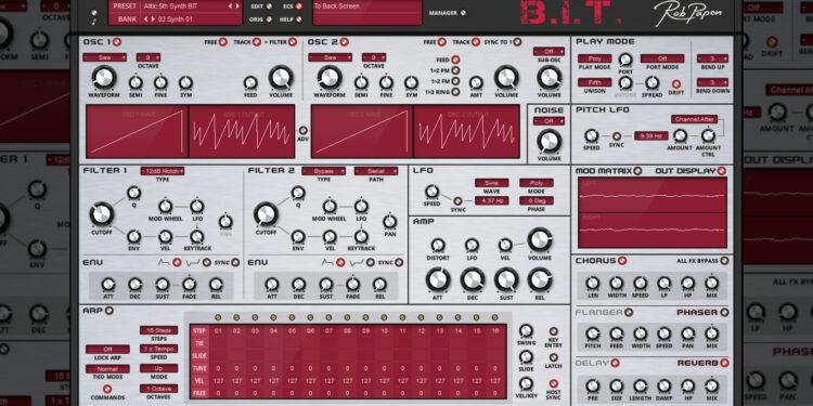 Синтезатор Rob Papen BIT