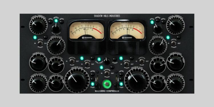 Brainworx Shadow Hills Mastering Compressor vst au aax