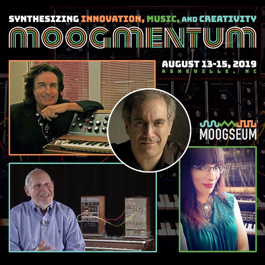 Открытие музея Moogseum Боба Муга