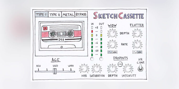 aberrant dsp sketchcassette plugin