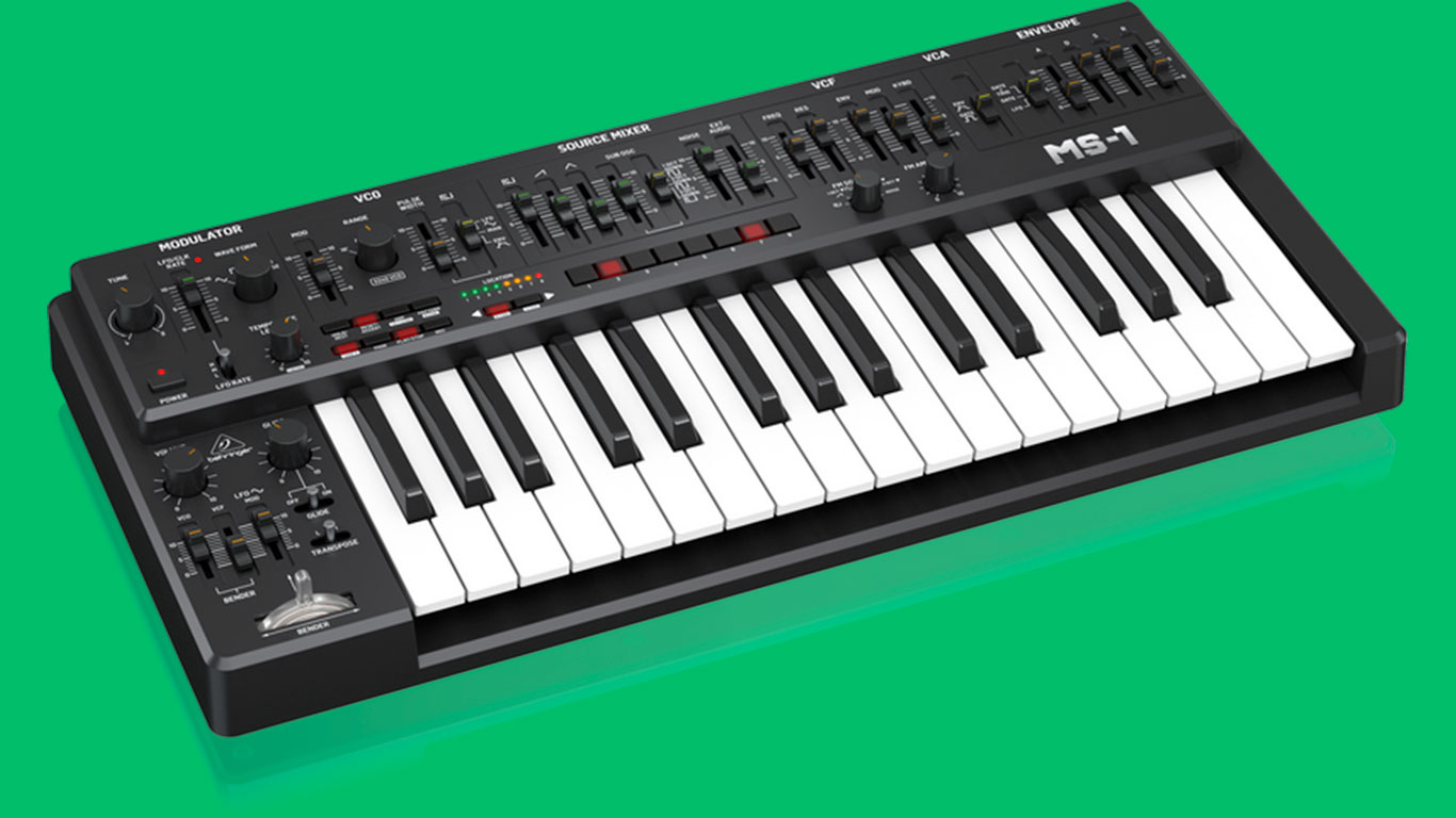 Behringer переименовала синтезатор MS-101 в MS-1, чтобы избежать