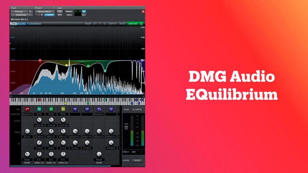 лучшие vst-эквалайзеры, DMG Audio EQuilibrium