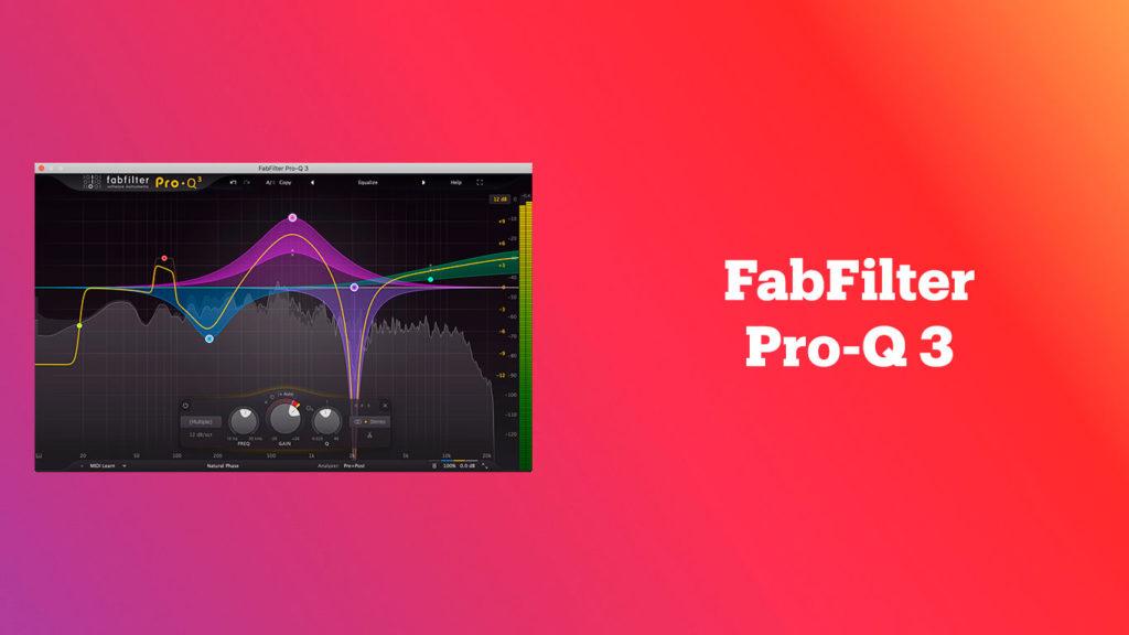 лучшие vst-эквалайзеры, FabFilter Pro-Q 3