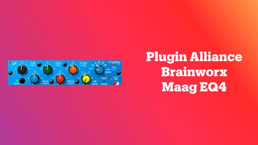 лучшие vst-эквалайзеры, Plugin Alliance Brainworx Maag EQ4