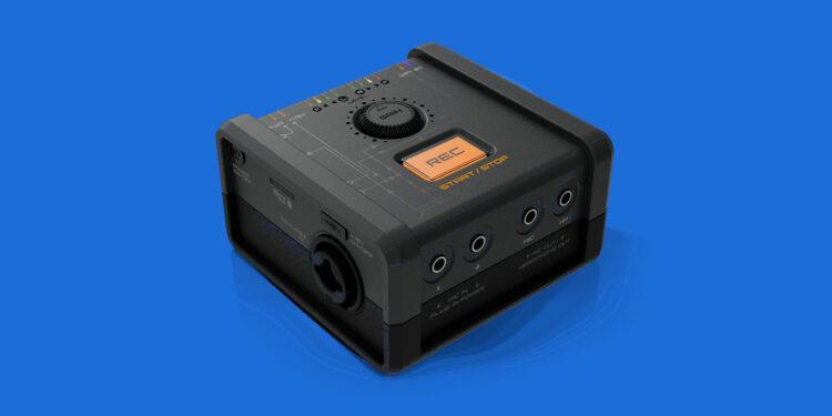 Reclouder портативный аудиоинтерфейс