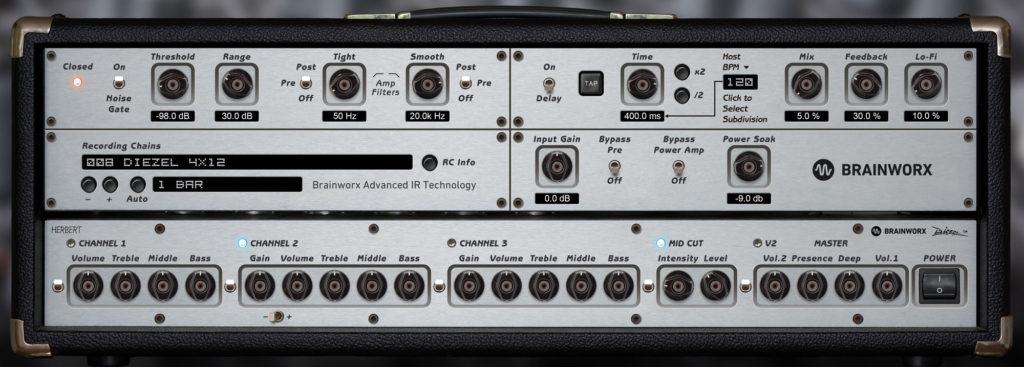 Brainworx Diezel Herbert VST Amp