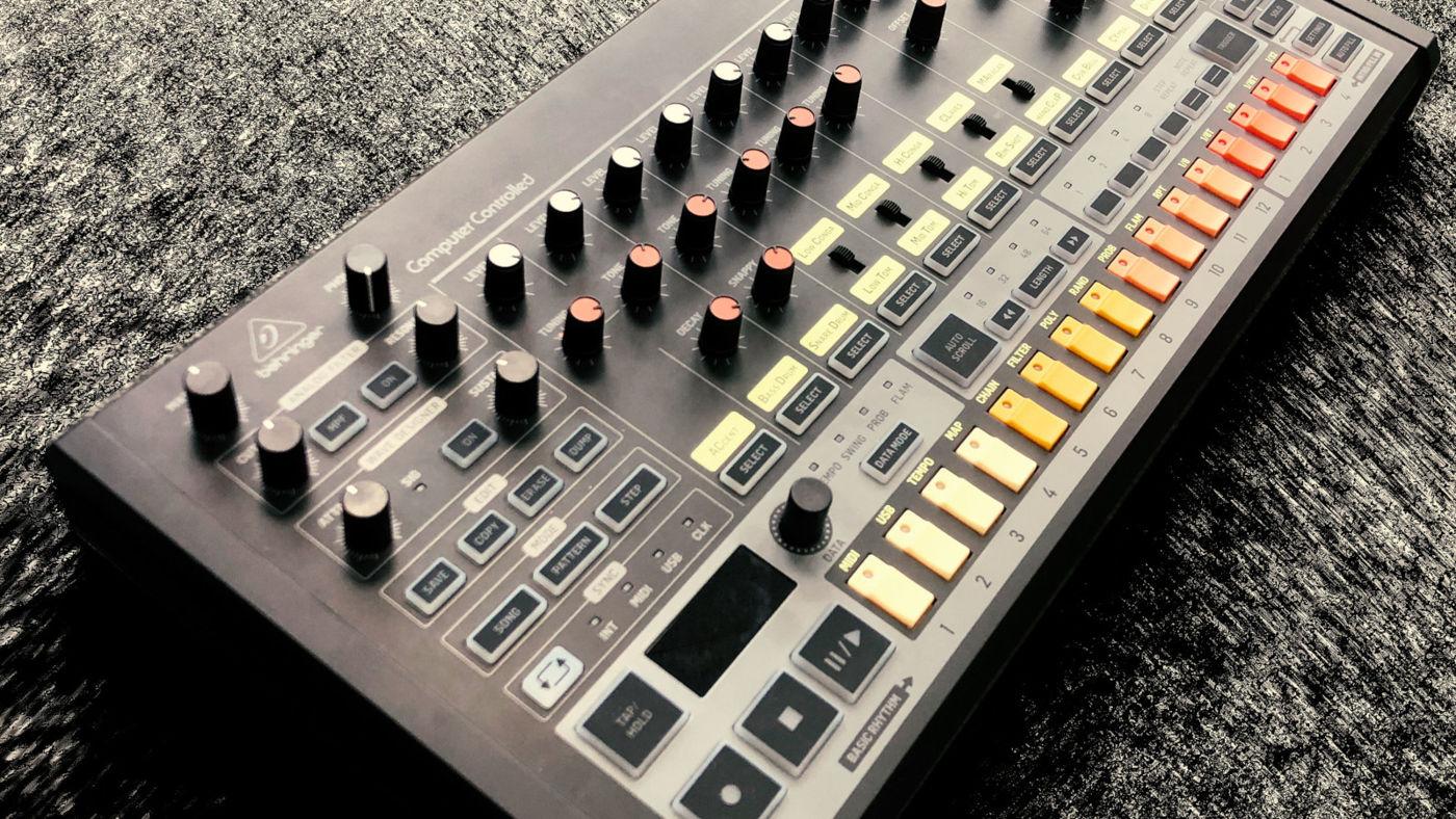 Behringer RD-8 Rhythm Designer уже доступна для предзаказа