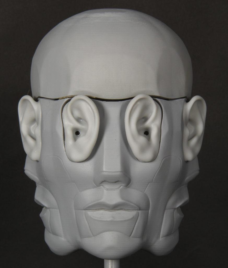 голова для записи бинаурального звука