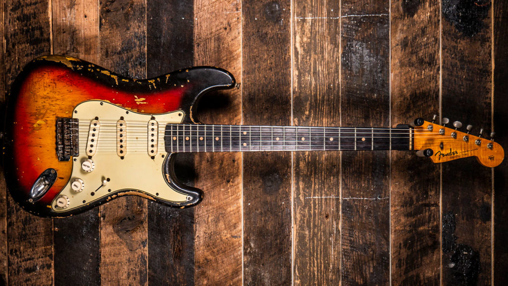 Fender Stratocaster 1964 с 3-позиционным переключателем