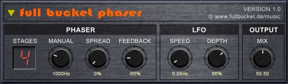 full bucket phaser free vst