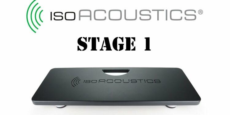 IsoAcoustics Stage1 Board— портативные подставки для профессиональной изоляции студии