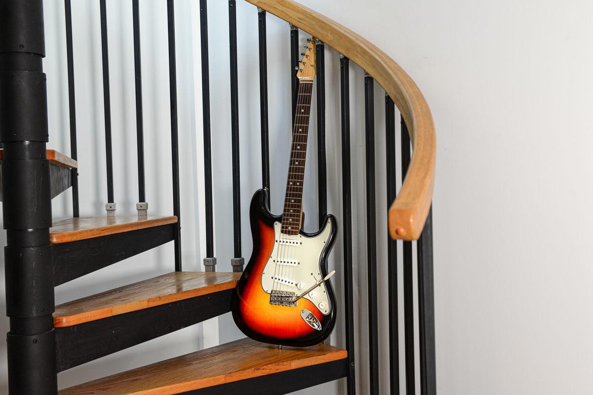 1965 Stratocaster 3-Color Sunburst