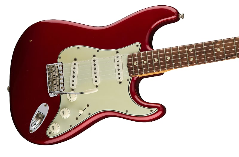 1965 Stratocaster Candy Apple Red