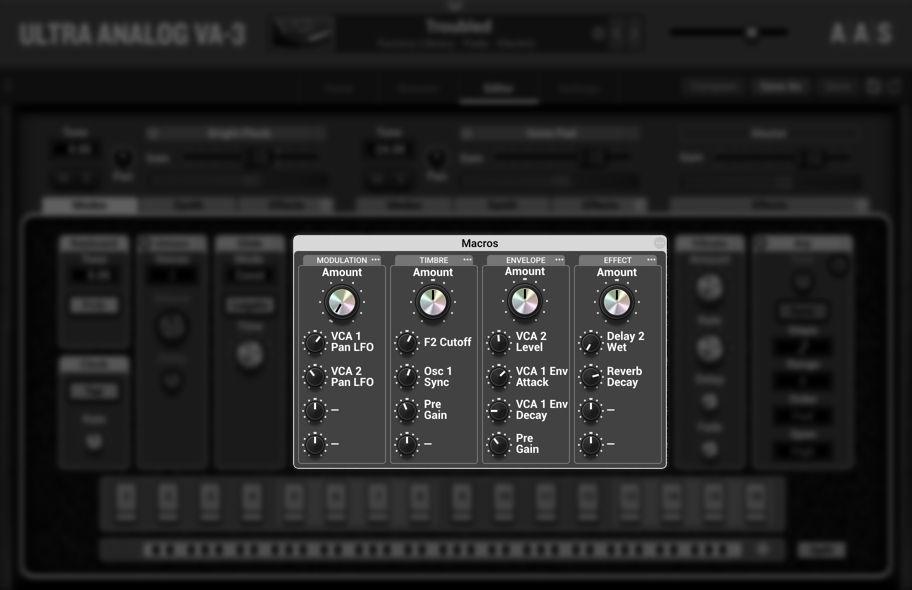 aas ultra analog va-3 vst синтезатор