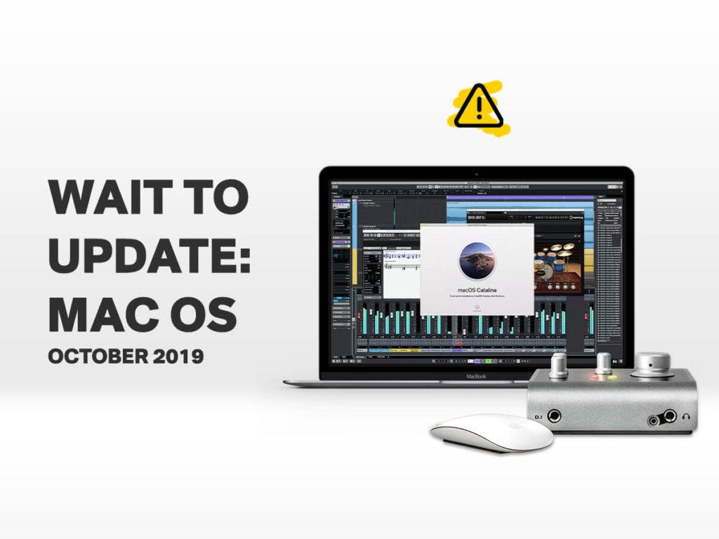 macOS Catalina не работает с VST-плагинами и DAW