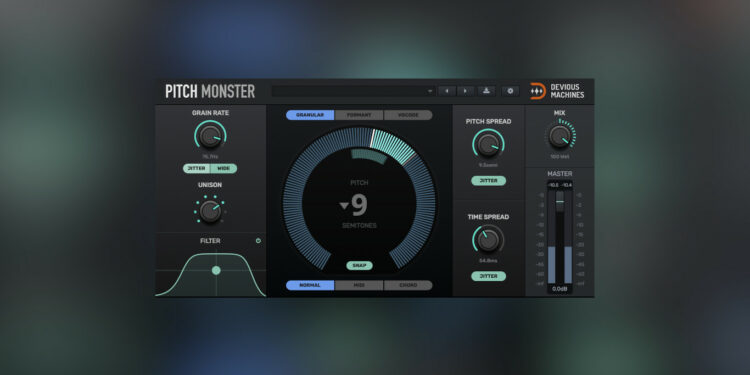 Devious Machines Pitch Monster