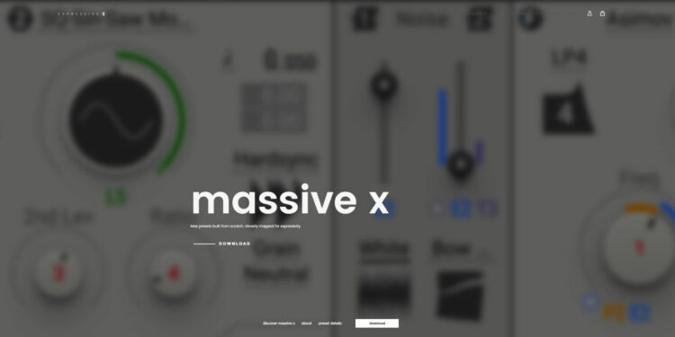 бесплатные пресеты massive x