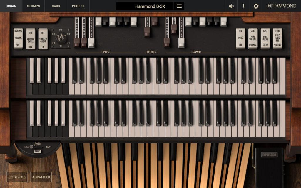 Hammond B-3X VST орган Хаммонда