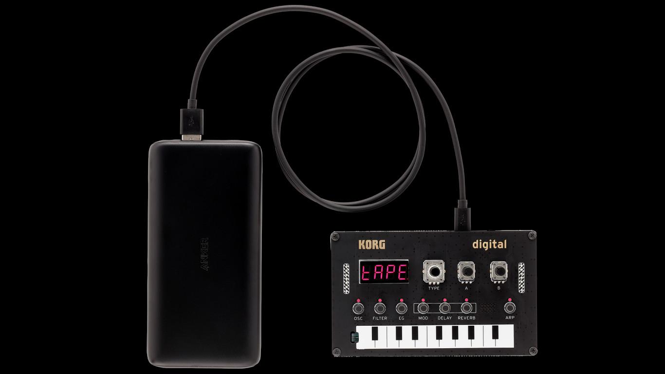 Синтезатор Korg NTS-1 Nu:Tekt