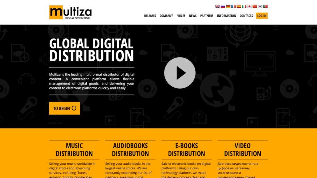 multiza как разместить музыку в itunes