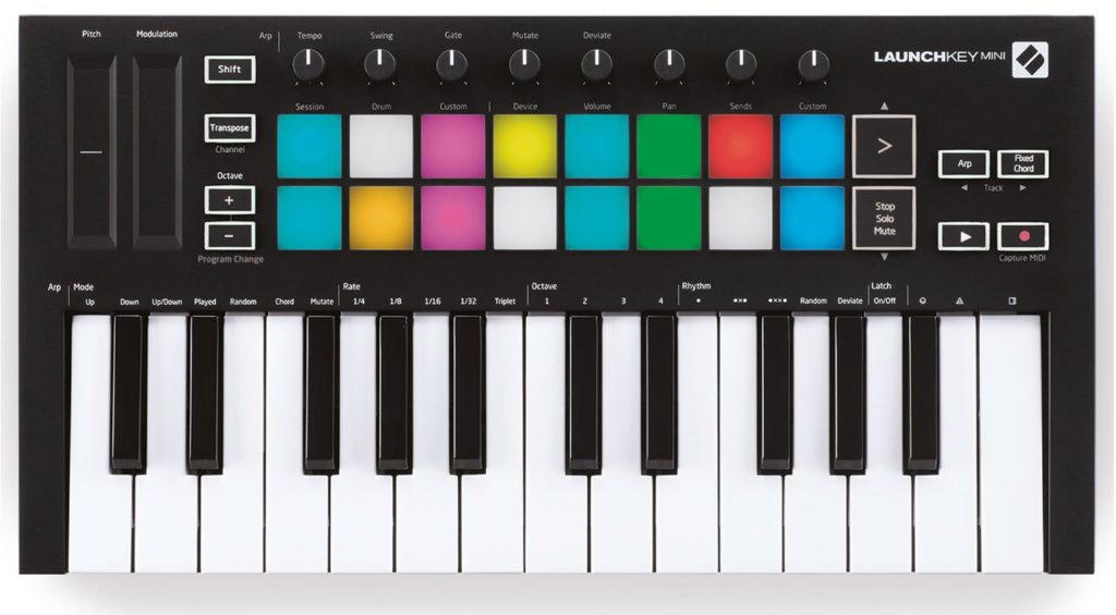 Novation LaunchKey Mini Mk3 MIDI-контроллер
