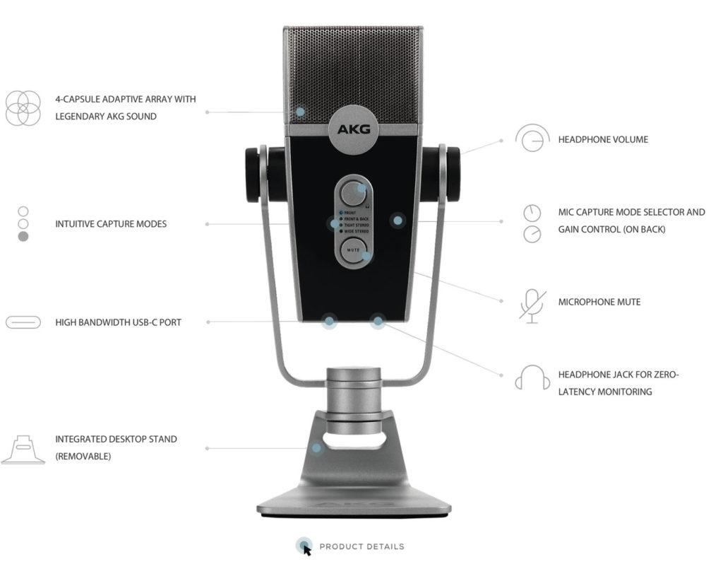 AKG Lyra USB-микрофон